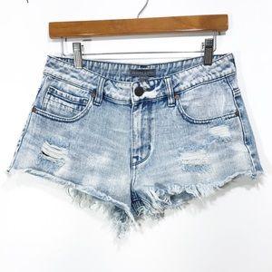 Kendall& Kylie women's jean shorts size 7